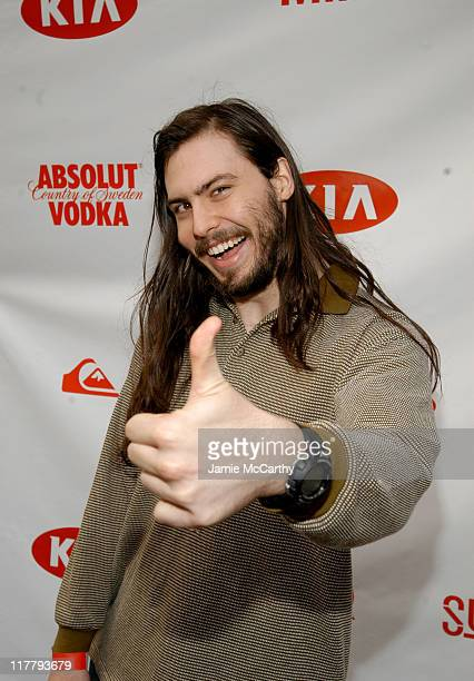 Andrew WK during Surf Culture Block Party for 'The Art History of Surfing' Exhibition Presented by KIA Motors at Milk Gallery in New York City New...
