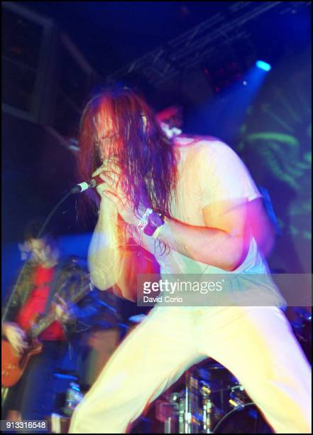 Andrew WK performing at the Johnny Ramone Cancer Research benefit at Spirit W27th St New York 8 October 2004