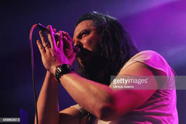 Andrew WK performs at 'Get Wet' a New Years Eve party at Irving Plaza on December 31 2013 in New York City