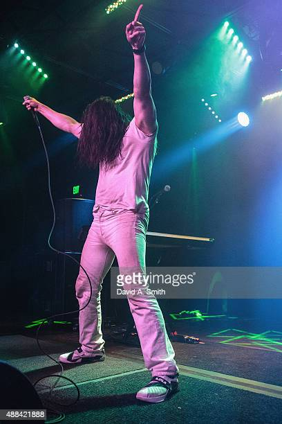Andrew WK performs at Saturn Birmingham on September 15 2015 in Birmingham Alabama
