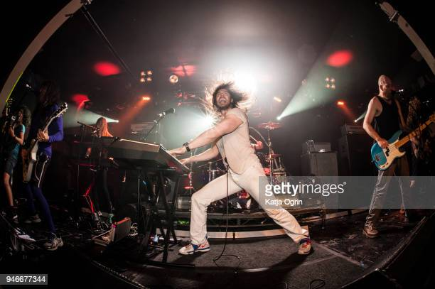 Andrew WK performs at The O2 Institute Birmingham on April 15 2018 in Birmingham England