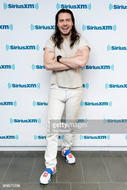 Andrew WK visits SiriusXM at SiriusXM Studios on March 1 2018 in New York City