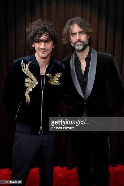 Andrew Wyatt and Anthony Rossomando attend the 61st Annual GRAMMY Awards at Staples Center on February 10 2019 in Los Angeles California