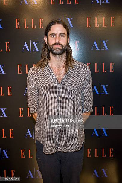 Andrew Wyatt performs at the A X Armani Exchange Elle Magazine Stylepalooza on August 2 2012 in Chicago Illinois