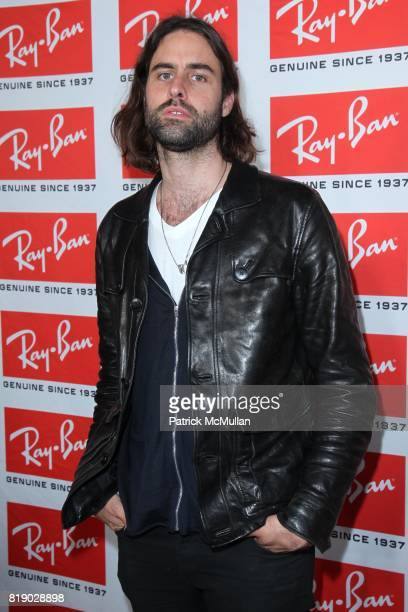 Andrew Wyeth attends RAY BAN AVIATOR THE ESSENTIALS A Celebration of Legendary Eyewear Style at Music Hall of Williamsburg on May 12 2010 in New York...