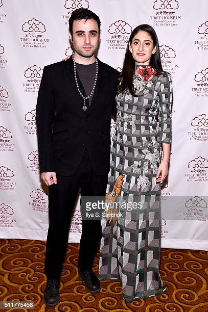 Andrew Yes and Arden Wohl attend the 26th Annual Tibet House U.S. Benefit concert after party at Gotham Hall on February 22, 2016 in New York City.