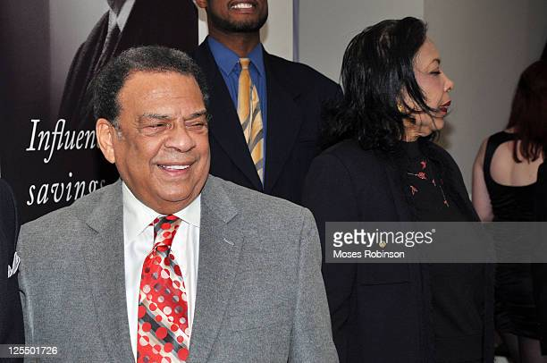 Andrew Young attends the Andrew Young Foundation International Holiday Celebration at a Private Residence on December 7 2010 in Atlanta Georgia