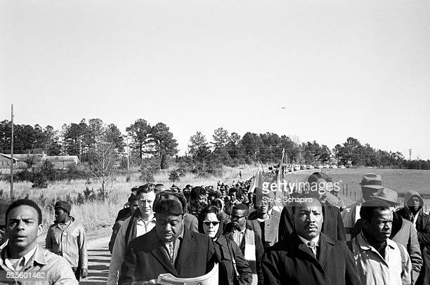 Andrew Young Ralph Abernathy John Lewis and Martin Luther King Jr on the Selma to Montgomery march