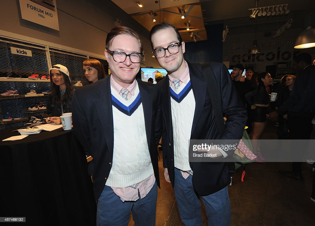 AndrewAndrew attend the American Dad Sneaker Launch at the Adidas Originals Store on October 18, 2014 in New York City. 25167_001_0366.JPG