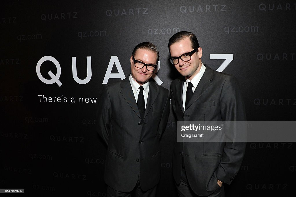 Andrewandrew attend the Media Company Launch Party For Quartz on October 25, 2012 in New York City. (Photo by Craig Barritt/Getty Images for Quartz (qz.com))