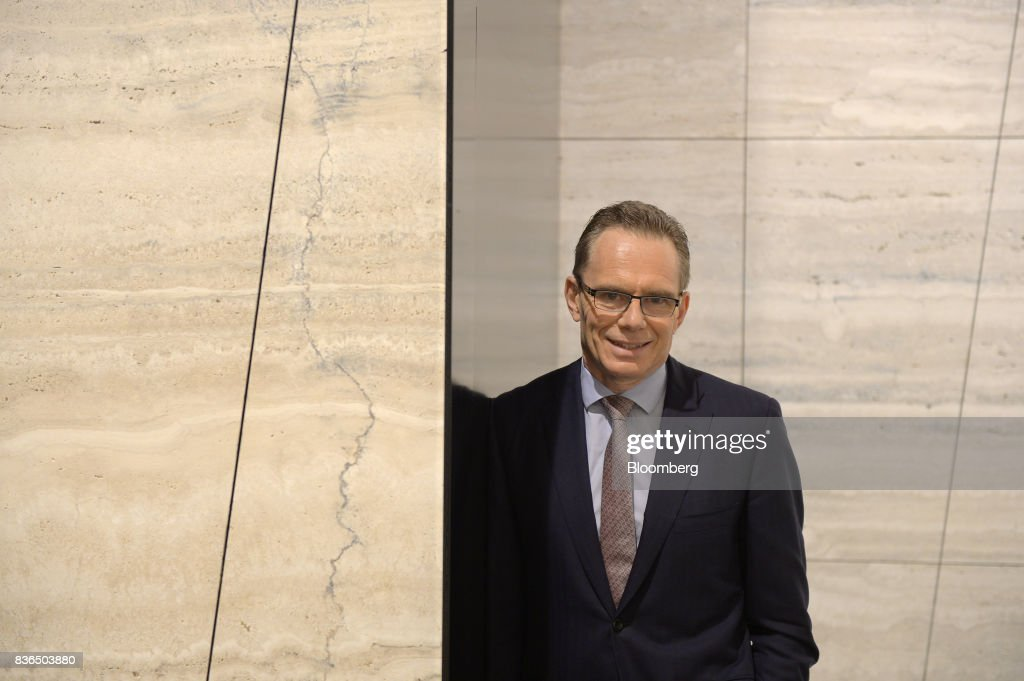 Andrew Mackenzie, chief executive officer of BHP Billiton Ltd., poses for a photograph at the company's headquarters in Melbourne, Australia, on Tuesday, Aug. 22, 2017. BHP flagged plans to divest its U.S shale unit -- acquired by the world's biggest miner in a $20 billion deals spree in 2011 -- after a campaign by activist investors, including Elliott Management Corp, to exit the business. Photographer: Carla Gottgens/Bloomberg via Getty Images
