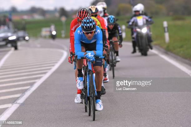 Andrey Amador Bikkazakova of Costa Rica and Movistar Team / during the 73rd Tour de Romandie 2019 Stage 3 a 160km stage from Romont to Romont 776m /...