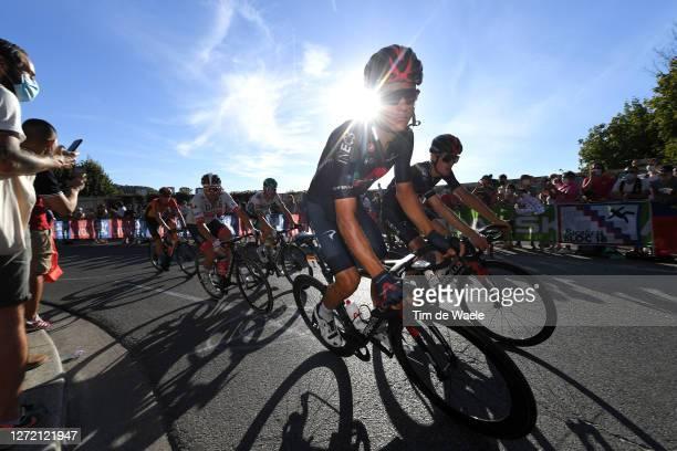 Andrey Amador Bikkazakova of Costa Rica and Team INEOS Grenadiers / Pavel Sivakov of Russia and Team INEOS Grenadiers / during the 107th Tour de...