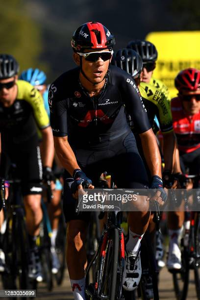 Andrey Amador Bikkazakova of Costa Rica and Team INEOS - Grenadiers / during the 75th Tour of Spain 2020, Stage 10 a 185km stage from Castro Urdiales...