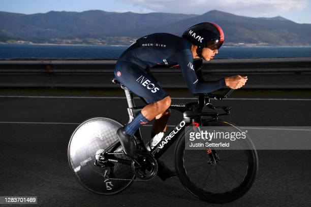 Andrey Amador Bikkazakova of Costa Rica and Team INEOS - Grenadiers / during the 75th Tour of Spain 2020, Stage 13 a 33,7km Individual Time Trial...