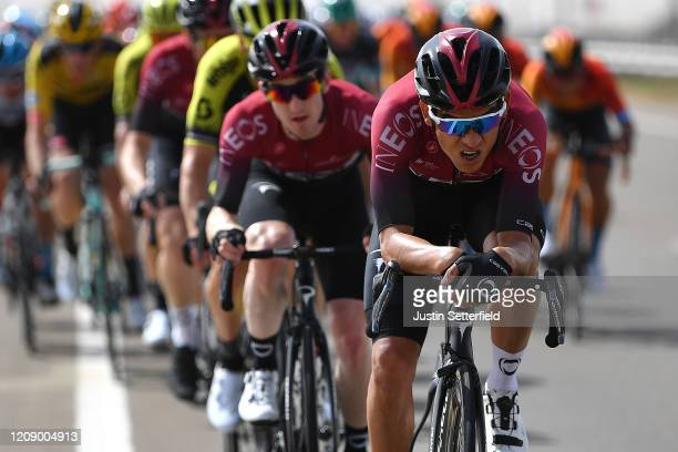 Andrey Amador Bikkazakova of Costa Rica and Team INEOS / Peloton / during the 6th UAE Tour 2020 Stage 5 a 162km stage from Al Ain to Jebel Hafeet...