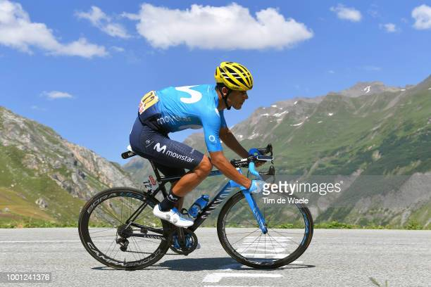 Andrey Amador of Costa Rica and Movistar Team / during the 105th Tour de France 2018 Stage 11 a 1085km stage from Albertville to La Rosiere Espace...