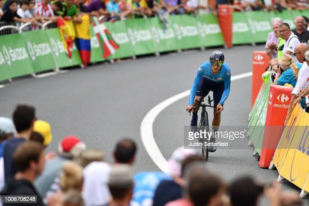 Andrey Amador of Costa Rica and Movistar Team / during the 105th Tour de France 2018 Stage 20 a 31km Individual Time Trial stage from...