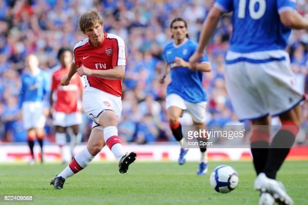 Andrey ARSHAVIN Arsenal / Glasgow Rangers Emirats Cup Emirats Stadium Londres