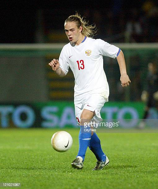 Andrey Eshchenko during the Under 21 Championship Playoffs between Portugal and Russia in Porto Portugal on October 10 2006