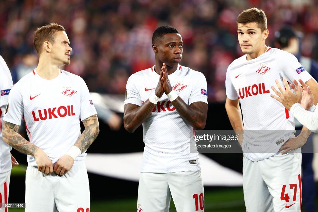 Athletic de Bilbao v Spartak Moscow - UEFA Europa League : Fotografía de noticias