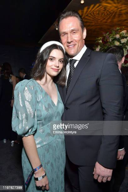 Andrey Ivchenko and Francesca Reale attends the Netflix 2020 Golden Globes After Party on January 05 2020 in Los Angeles California