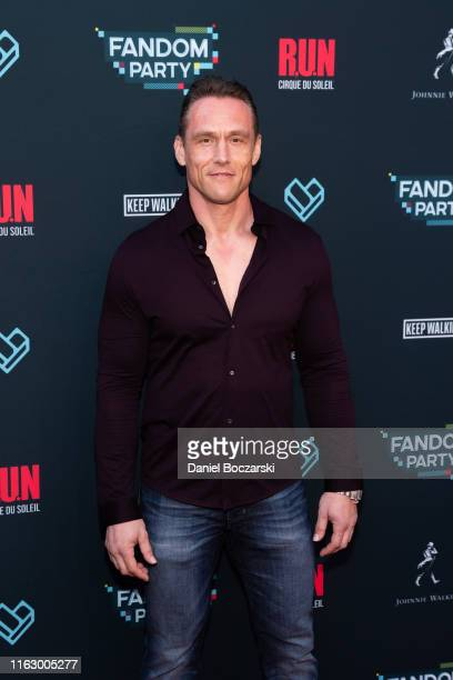 Andrey Ivchenko attends the Fandom Party at SDCC 2019 featuring RUN the first liveaction thriller by Cirque du Soleil at Float at Hard Rock Hotel San...