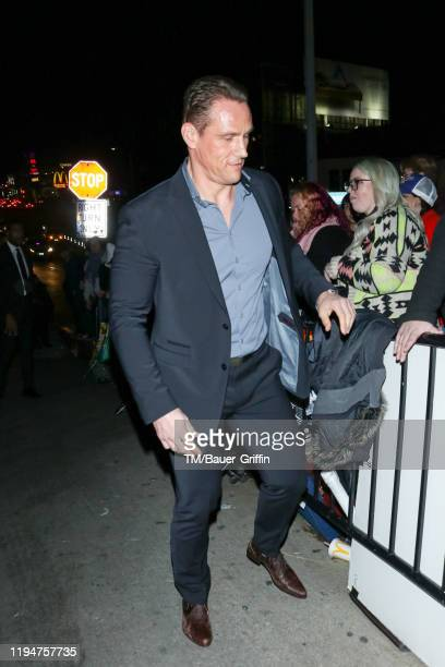 Andrey Ivchenko is seen on January 19 2020 in Los Angeles California