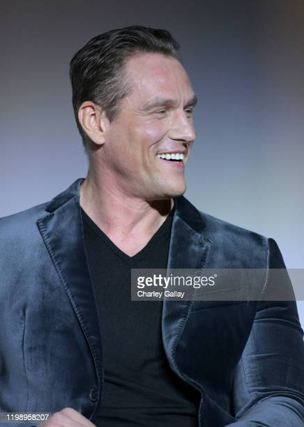 Andrey Ivchenko speaks onstage during Netflix's Stranger Things QA and Reception at Pacific Design Center on January 11 2020 in West Hollywood...
