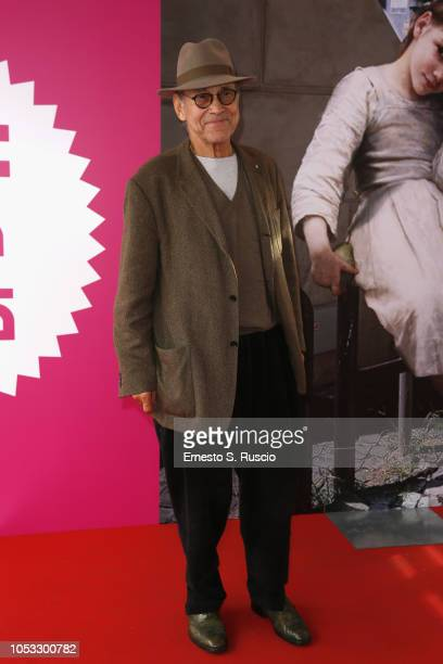 Andrey Konchalovskiy attends the Andrej Koncalovskij Masterclass At Casa Alice during the 13th Rome Film Fest at Auditorium Parco Della Musica on...