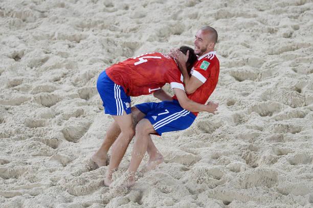RUS: Football Union Of Russia v Spain - FIFA Beach Soccer World Cup 2021: Quarter-final