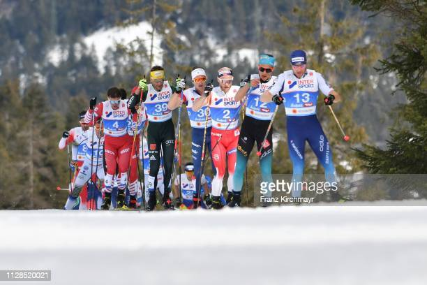Andrey Melnichenko of Russia Andreas Katz of Germany David Norris of the United States Martin Johnsrud Sundby of Norway Clement Parisse of France and...