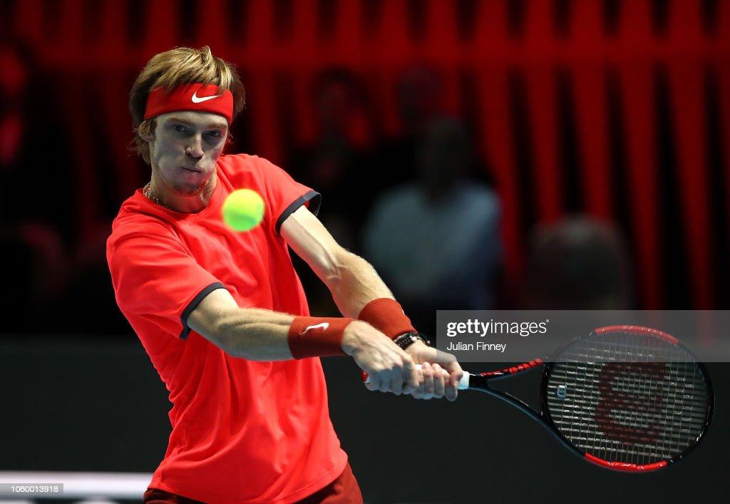 Next Gen ATP Finals - Day Five : News Photo