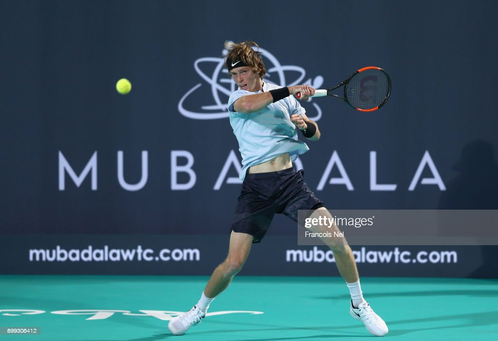 Mubadala World Tennis Championship - Day One : News Photo