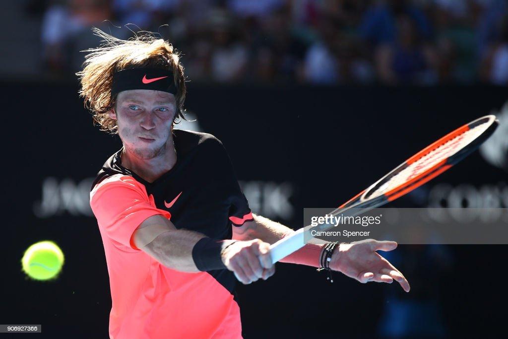 2018 Australian Open - Day 5 : Foto di attualità