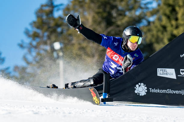 SVN: FIS Snowboard Alpine World Championships - Men's Parallel Giant Slalom Qualification