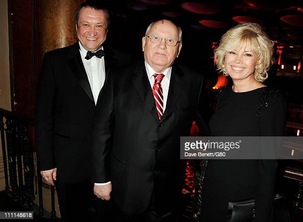 Andrey Trukhachev Former Soviet leader Mikhail Gorbachev and daughter Irina Virganskaya attend the Gorby 80 Gala at the Royal Albert Hall on March 30...