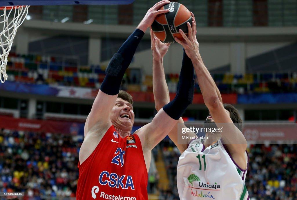 CSKA Moscow v Unicaja Malaga - Turkish Airlines EuroLeague
