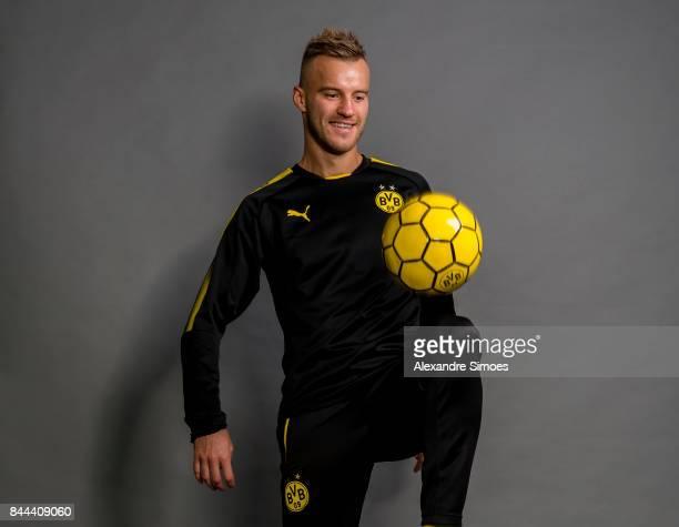 Andrey Yarmolenko of Borussia Dortmund at Dortmund on September 7 2017 in Dortmund Germany