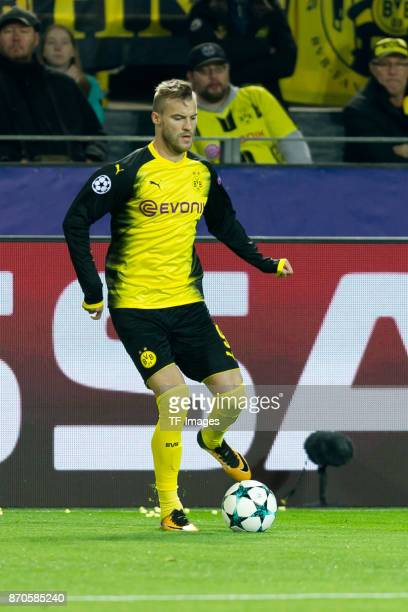 Andrey Yarmolenko of Borussia Dortmund controls the ball during the UEFA Champions League Group H soccer match between Borussia Dortmund and APOEL...
