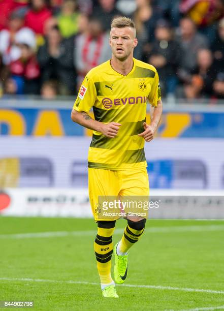 Andrey Yarmolenko of Borussia Dortmund during the Bundesliga match between SportClub Freiburg and Borussia Dortmund at SchwarzwaldStadion on...