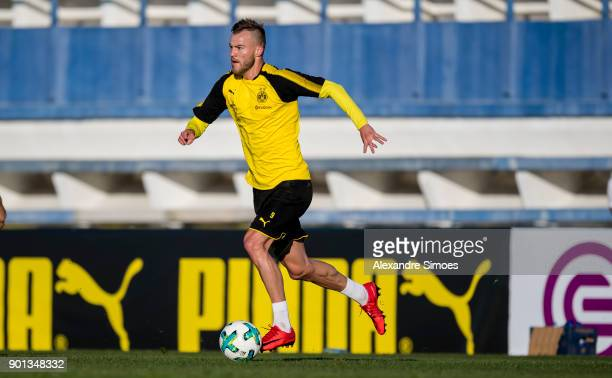 Andrey Yarmolenko of Borussia Dortmund during the second day in the training camp in Marbella on January 4 2018 in Marbella Spain
