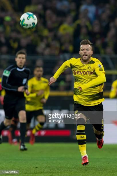 Andrey Yarmolenko of Dortmund controls the ball during the Bundesliga match between Borussia Dortmund and SportClub Freiburg at Signal Iduna Park on...