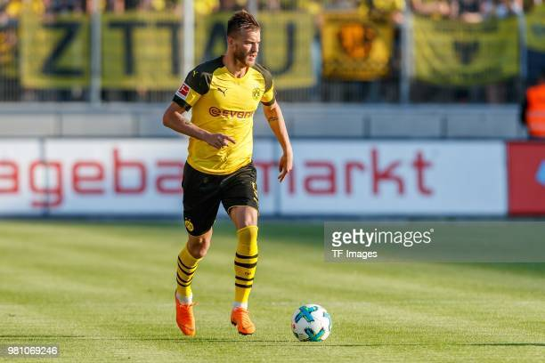 Andrey Yarmolenko of Dortmund controls the ball during the Friendly Match match between FSV Zwickau and Borussia Dortmund at Stadion Zwickau on May...