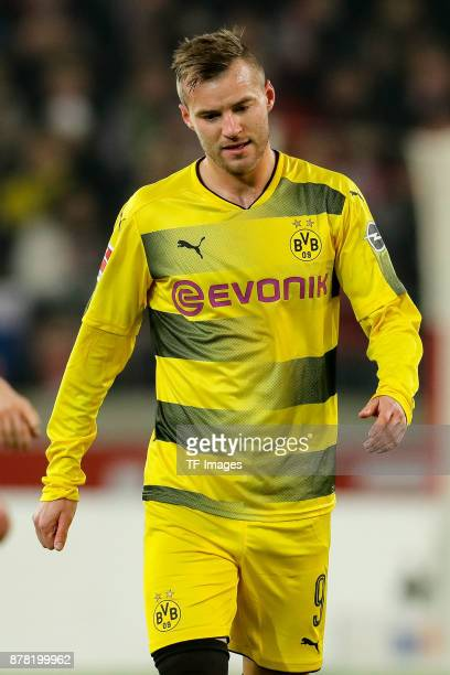 Andrey Yarmolenko of Dortmund looks on during the Bundesliga match between VfB Stuttgart and Borussia Dortmund at MercedesBenz Arena on November 11...