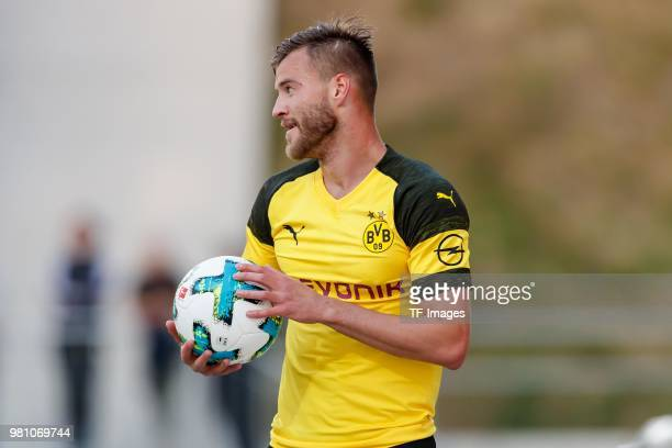 Andrey Yarmolenko of Dortmund looks on during the Friendly Match match between FSV Zwickau and Borussia Dortmund at Stadion Zwickau on May 14 2018 in...