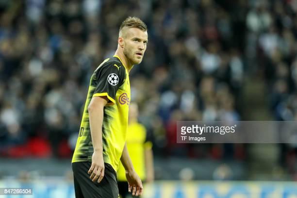 Andrey Yarmolenko of Dortmund looks on during the UEFA Champions League group H match between Tottenham Hotspur and Borussia Dortmund at Wembley...