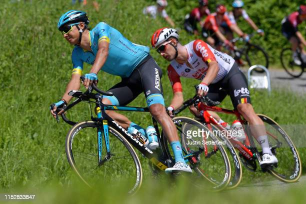 Andrey Zeits of Kazahkstan and Astana Pro Team / during the 102nd Giro d'Italia Stage 19 a 151km stage from Treviso to San Martino di Castrozza 1478m...