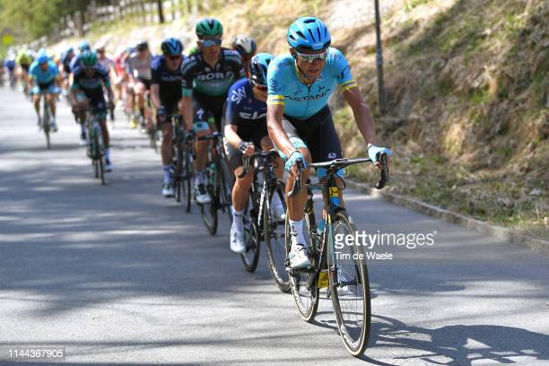 Andrey Zeits of Kazahkstan and Astana Pro Team / during the 43rd Tour of the Alps 2019 Stage 1 a 144km stage from Kufstein to Kufstein /...