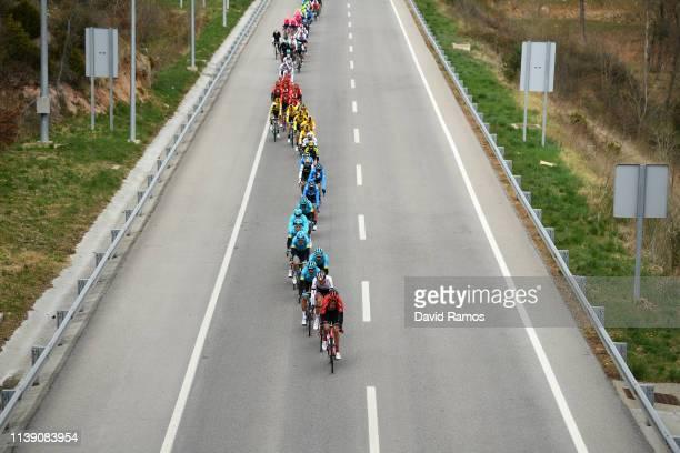 Andrey Zeits of Kazahkstan and Astana Pro Team / Rodrigo Contreras of Colombia and Astana Pro Team / Pello Bilbao of Spain and Astana Pro Team /...